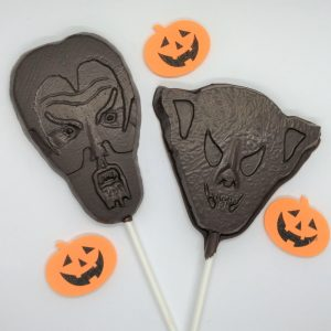Large Halloween Irish Cream Chocolate Stirrer