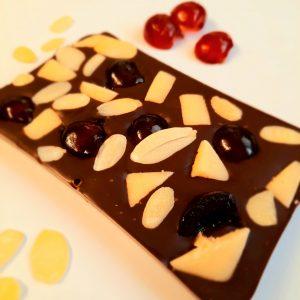 Cherry Marzipan Slab